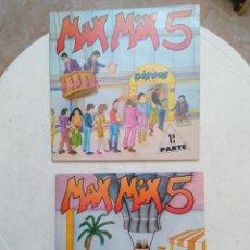 Discos de vinilo: LOTE DE 4 VINILOS LP ( MAX MIX 5 ( 1 PARTE-2 LP ) Y MAX MIX 5 ( 2 PARTE-2 LP ) ). Lote 253749270