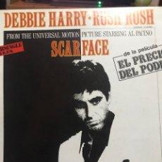 Discos de vinilo: SCARFACE EL PADRINO DE LA PELÍCULA EL PRECIO DEL PODER. Lote 253750180