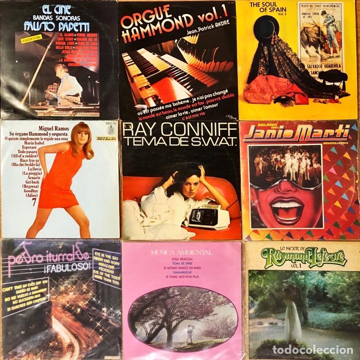 LOTE 10 LP'S JAZZ & ORQUESTAS (Música - Discos - LP Vinilo - Jazz, Jazz-Rock, Blues y R&B)