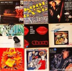 Discos de vinilo: LOTE 10 MAXI SINGLE 80'S & 90'S VARIADO. Lote 253753575