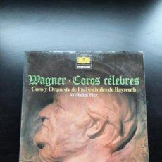 Discos de vinilo: WAGNER COROS CELEBRES. Lote 253768235