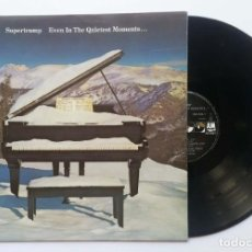 "Discos de vinilo: LP SUPERTRAMP ""EVEN IN THE QUIETEST MOMENTS…"" 1985. Lote 253775355"