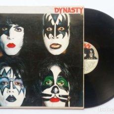 "Discos de vinilo: LP KISS ""DINASTY"" 1979. Lote 253775635"