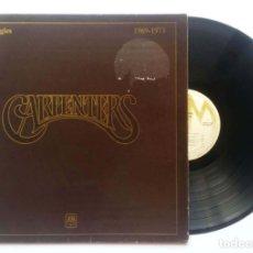 "Discos de vinilo: LP CARPENTERS ""THE SINGLES 1969-1973"" 1977. Lote 253776500"