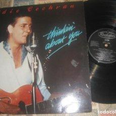 Discos de vinilo: EDDIE COCHRAN (THINKIN' ABOUT YOU) -( ROCKSTAR RECORDS, 1989) OG ENGLAND. Lote 253777520