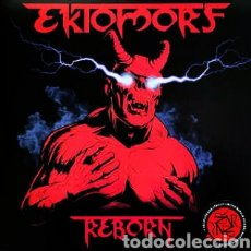 Discos de vinilo: EKTOMORF–REBORN. LP VINILO COLOR ROJO. EDICIÓN LIMITADA. PRECINTADO. Lote 253779560