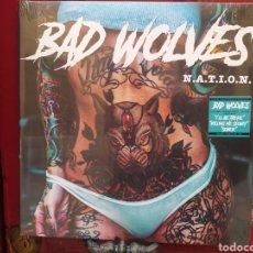 Discos de vinilo: BAD WOLVES–N.A.T.I.O.N. DOBLE LP VINILO. PRECINTADO. HEAVY METAL. Lote 253781335