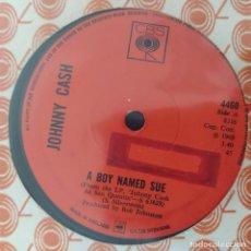 "Discos de vinilo: JOHNNY CASH - A BOY NAMED SUE (7"", SINGLE) (1969/UK). Lote 253782570"
