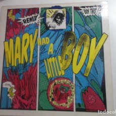 Discos de vinilo: SNAP - MARY HAD A LITTLE BOY (MX) 1990. Lote 253786595