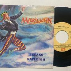 Discos de vinilo: SINGLE EP MARILLION FREAKS ( LIVE ) EDICIÓN ESPAÑOLA DE 1988. Lote 253788825