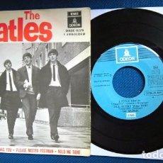 Discos de vinilo: BEATLES SINGLE EP RE EDICION EDITADO POR EMI ODEON ESPAÑA ORIGINAL AÑOS 70 CONJUNTO MUSICAL BEAT. Lote 253789505