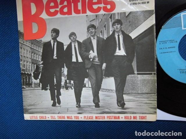 Discos de vinilo: BEATLES SINGLE EP RE EDICION EDITADO POR EMI ODEON ESPAÑA ORIGINAL AÑOS 70 CONJUNTO MUSICAL BEAT - Foto 3 - 253789505