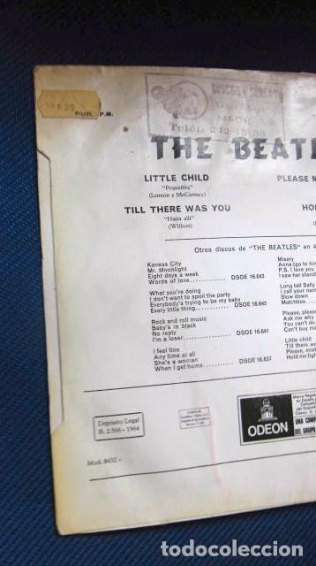 Discos de vinilo: BEATLES SINGLE EP RE EDICION EDITADO POR EMI ODEON ESPAÑA ORIGINAL AÑOS 70 CONJUNTO MUSICAL BEAT - Foto 6 - 253789505