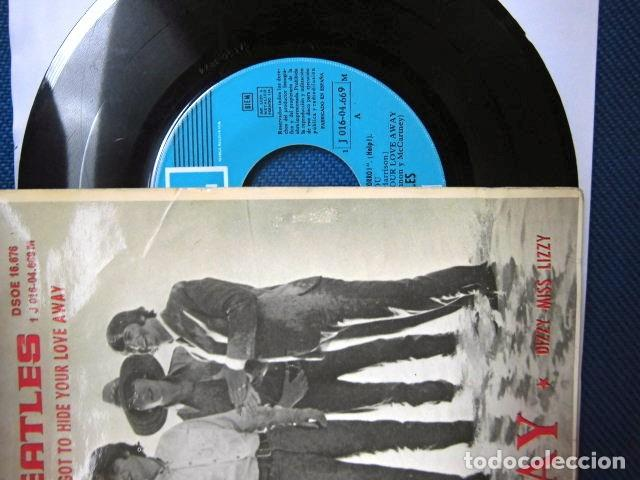 Discos de vinilo: BEATLES SINGLE EP RE EDICION EDITADO POR EMI ODEON ESPAÑA ORIGINAL AÑOS 70 CONJUNTO MUSICAL BEAT - Foto 5 - 253790040