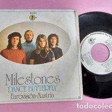 Discos de vinilo: MILESTONES – DANCE BUTTERFLY. Lote 253790995