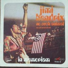 Discos de vinilo: SINGLE / JIMI HENDRIX / IN MEMORIAN - NO SUCH ANIMAL, 1971. Lote 253800315