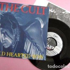 """Discos de vinilo: THE CULT - WILD HEARTED SON - SINGLE PROMO RADIO 7"""" - 1991. Lote 253800860"""