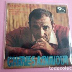 Discos de vinilo: CHARLES AZNAVOUR (EN ESPAÑOL) VENECIA SIN TI + 2 (EP 1965) TRIANGULO. Lote 253802270