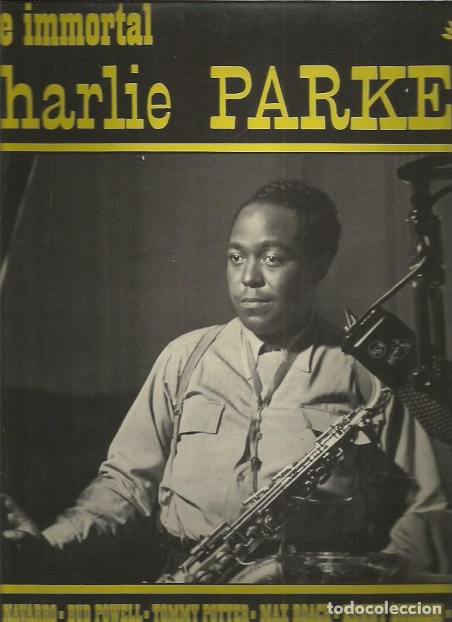 CHARLIE PARKER IMMORTAL (Música - Discos - LP Vinilo - Jazz, Jazz-Rock, Blues y R&B)
