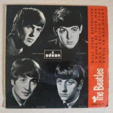 Discos de vinilo: THE BEATLES - LABEL VERDE - EP MUY RARO ROLL OVER BEETHOVEN DSOE 16.579 EDICIÓN ESPAÑOLA VER FOTOS. Lote 253803895