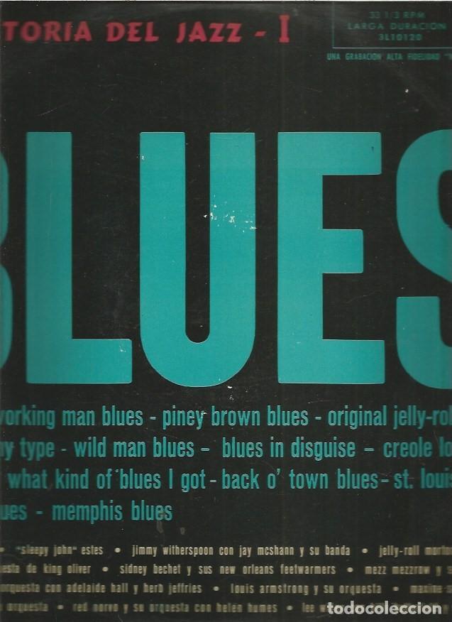 HISTORIA DEL JAZZ I EL BLUES (Música - Discos - LP Vinilo - Jazz, Jazz-Rock, Blues y R&B)
