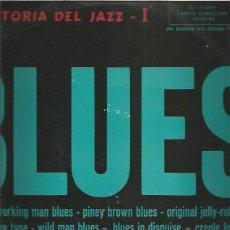 Discos de vinilo: HISTORIA DEL JAZZ I EL BLUES. Lote 253804095