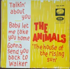 Discos de vinilo: EP / THE ANIMALS - THE HOUSE OF THE RISING SUN, 1964. Lote 253808480