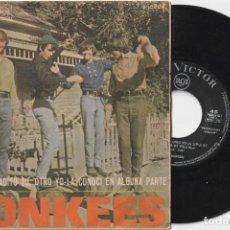 Disques de vinyle: THE MONKEES - UN BOCADITO TU, OTRO YO (SINGLE RCA 1967). Lote 253809480