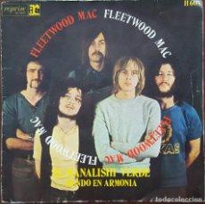 Discos de vinilo: SINGLE / FLEETWOOD MAC - EL MANALISHI VERDE, 1970. Lote 253810730