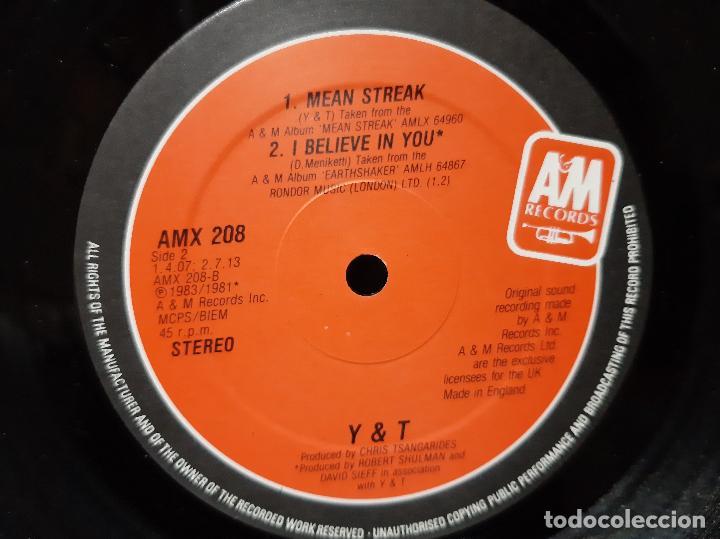 "Discos de vinilo: Y & T -DONINGTON 84 SOUVENIR 12"" EP- (1984) EP - Foto 4 - 253814395"