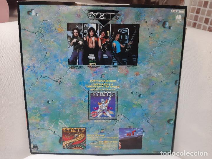 "Discos de vinilo: Y & T -DONINGTON 84 SOUVENIR 12"" EP- (1984) EP - Foto 9 - 253814395"