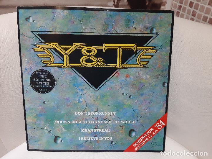 """Y & T -DONINGTON '84 SOUVENIR 12"""" EP- (1984) EP (Música - Discos de Vinilo - EPs - Heavy - Metal)"""