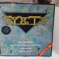 """Discos de vinilo: Y & T -DONINGTON '84 SOUVENIR 12"""" EP- (1984) EP. Lote 253814395"""