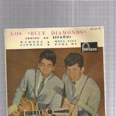 Discos de vinilo: BLUE DIAMONDS RAMONA (VINILO AZUL). Lote 253816030