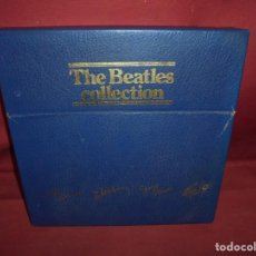 Discos de vinilo: MAGNIFICA CAJA AZUL CON 12 LPS THE BEATLES COLLECTION. Lote 253821870
