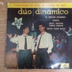 Discos de vinilo: ** DÚO DINÁMICO - EL TERCER HOMBRE / VAYA CON DIOS + 2 - EP AÑO 1961- LEER DESCRIPCIÓN. Lote 253823870
