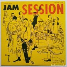 Discos de vinilo: VARIOUS – NORMAN GRANZ' JAM SESSION 1 JAPAN,1974 VERVE RECORDS. Lote 253825200