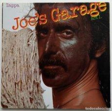 Discos de vinilo: FRANK ZAPPA – JOE'S GARAGE ACT I CANADA,1979 ZAPPA RECORDS. Lote 253827965