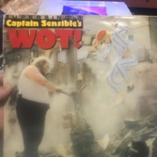 Discos de vinilo: CAPTAIN SENSIBLES . WOT ! S/S AM RECORDS 1982. Lote 253834075
