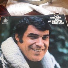 Discos de vinilo: LO MEJOR DE ALBERTO CORTEZ, VINILO A ESTRENAR. Lote 253836045