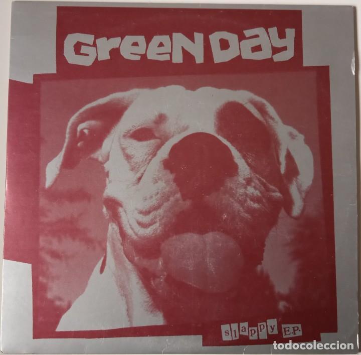 GREEN DAY...SLAPPY E.P. (LOOKOUT! RECORDS 1990) USA (Música - Discos de Vinilo - EPs - Punk - Hard Core)