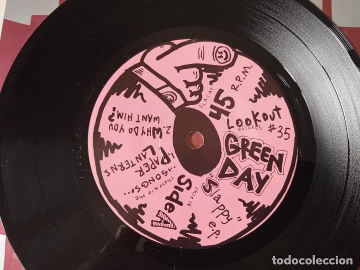 Discos de vinilo: Green Day...Slappy E.P. (Lookout! Records 1990) Usa - Foto 4 - 253848375