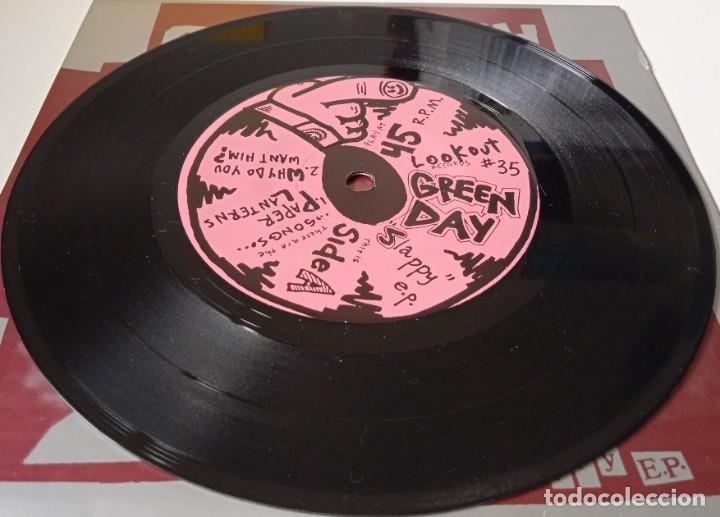 Discos de vinilo: Green Day...Slappy E.P. (Lookout! Records 1990) Usa - Foto 5 - 253848375