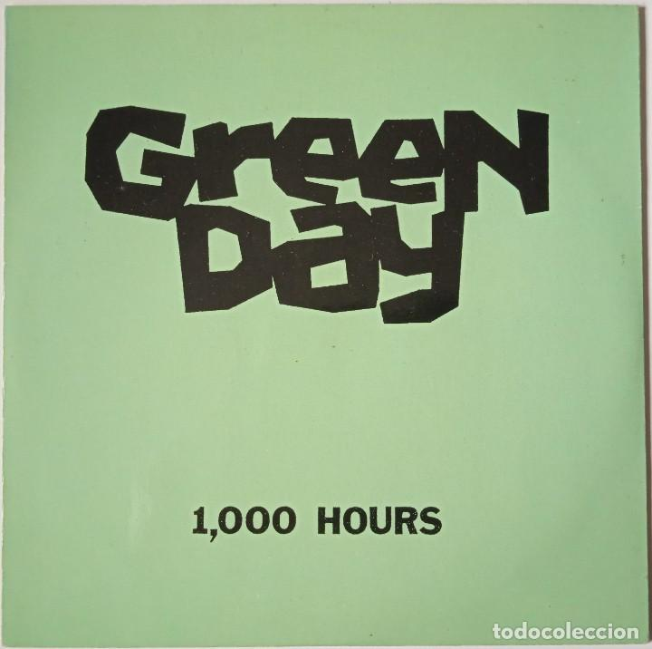 GREEN DAY...1,000 HOURS. (LOOKOUT! RECORDS AÑO DESCONOCIDO) USA (Música - Discos de Vinilo - EPs - Punk - Hard Core)