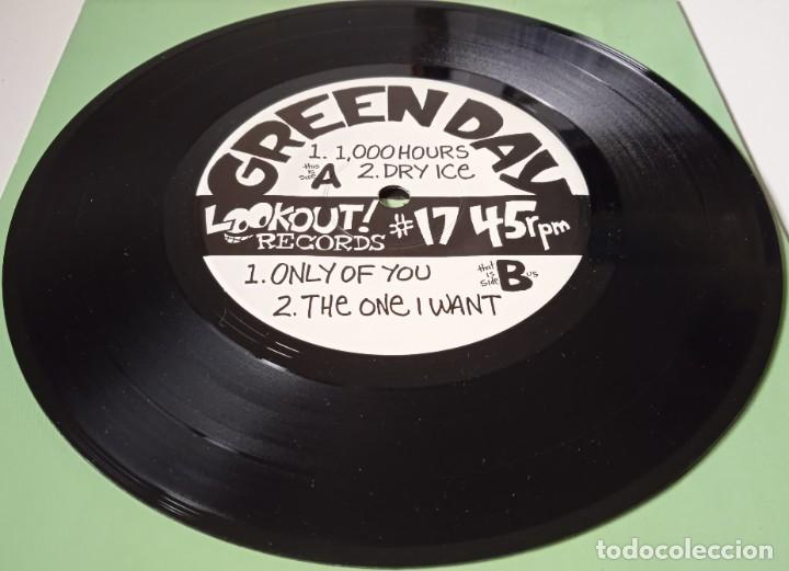 Discos de vinilo: Green Day...1,000 Hours. (Lookout! Records año desconocido) Usa - Foto 3 - 253849130