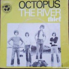 Discos de vinilo: SINGLE / OCTOPUS - THE RIVER, 1970 (EDICION FRANCESA). Lote 253864645