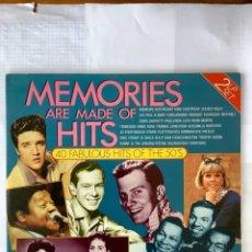 Discos de vinilo: MEMÒRIES OF HITS. Lote 253866475