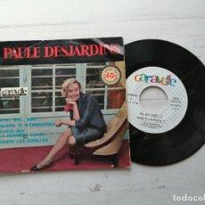 Discos de vinilo: PAULE DESJARDINS – BYE-BYE BABY + 3 EP FRANCIA 1961 VINILO NM/PORTADA VG++. Lote 253875580
