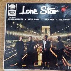 Discos de vinilo: ** LONE STAR - NUESTRA GENERACIÓN / LOS DOMINGOS + 2 - EP AÑO 1966 - LEER DESCRIPCIÓN. Lote 253875650