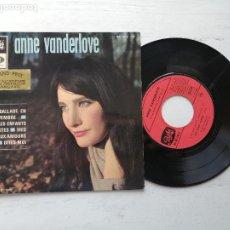 Discos de vinilo: ANNE VANDERLOVE – BALLADE EN NOVEMBRE + 3 EP FRANCIA 1966 EX/VG++. Lote 253882400